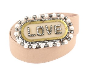 Lanvin Embellished Love Grosgrain