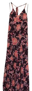 pink floral Maxi Dress by Express