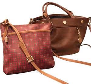 Tommy Hilfiger Satchel in & brown