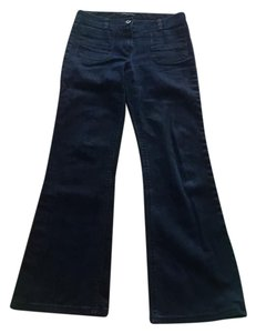 Theory Boot Cut Jeans-Dark Rinse