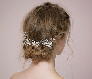 BHLDN Bhldn Brand New Lucky Clover Pearl Bridal Jewelry