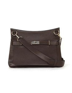 Hermès Jypsiere 34cm Clemence Leather Jypsiere 34 Cross Body Bag