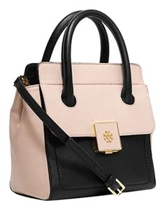Tory Burch Pebbled Leather Gold Hardware Shoulder Bag