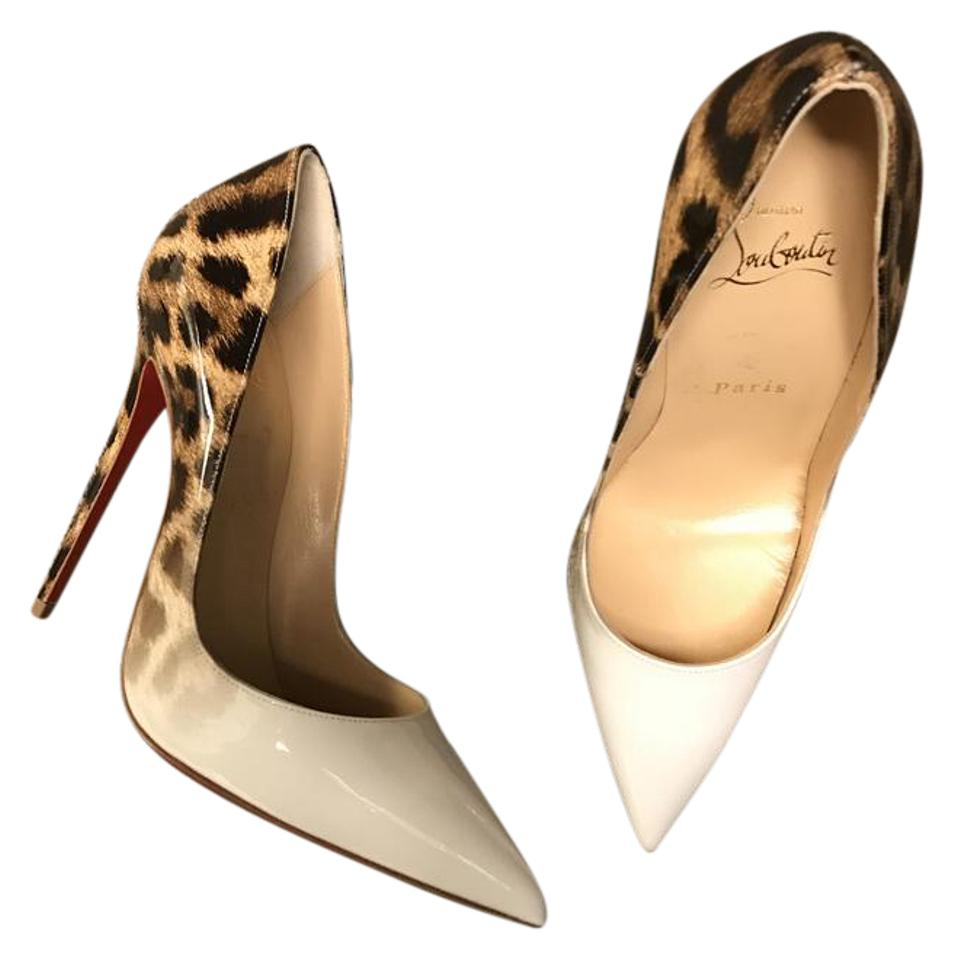 check out 7221b f5abf Christian Louboutin Leopard So Kate 120 Patent Degrade White Leo Heels  Pumps Size US 7 Narrow (Aa, N) 21% off retail