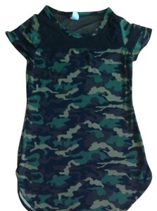 Blush Top Camouflage
