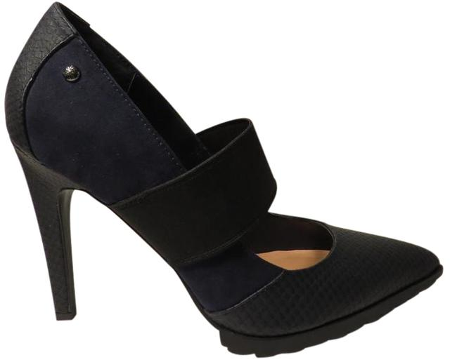 Item - Blue and Black Simply By Pumps Size US 8 Regular (M, B)