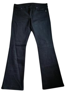 Citizens of Humanity Stretch Material Boot Cut Jeans-Dark Rinse