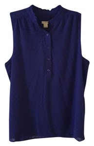 J.Crew Top Rich blueish purple