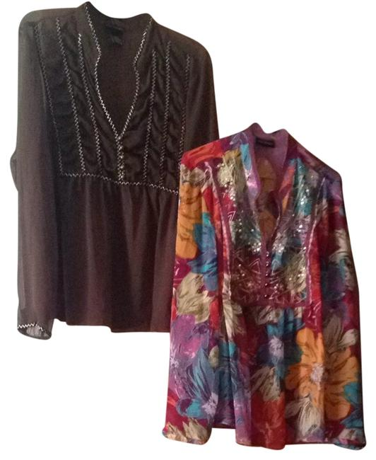 Preload https://item1.tradesy.com/images/lane-bryant-brown-teal-yellow-red-purple-floral-and-basic-blouse-size-16-xl-plus-0x-2131990-0-0.jpg?width=400&height=650
