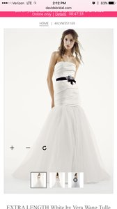 White By Vera Wang Vw351169 Wedding Dress