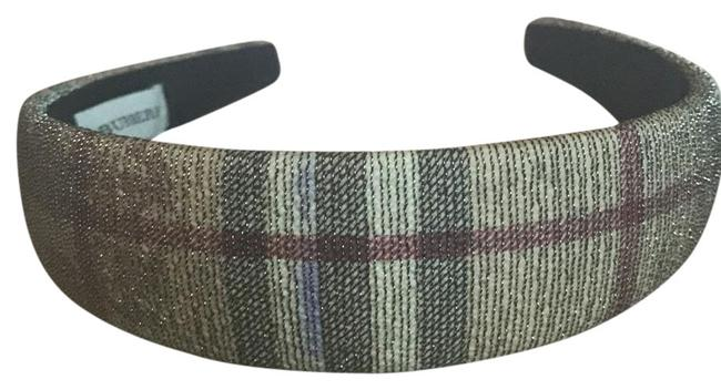 Item - Brown Red Check Headband Hair Accessory