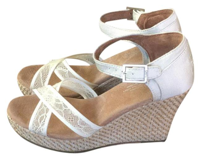 Item - Off White 300215 Wedges Size US 7 Wide (C, D)