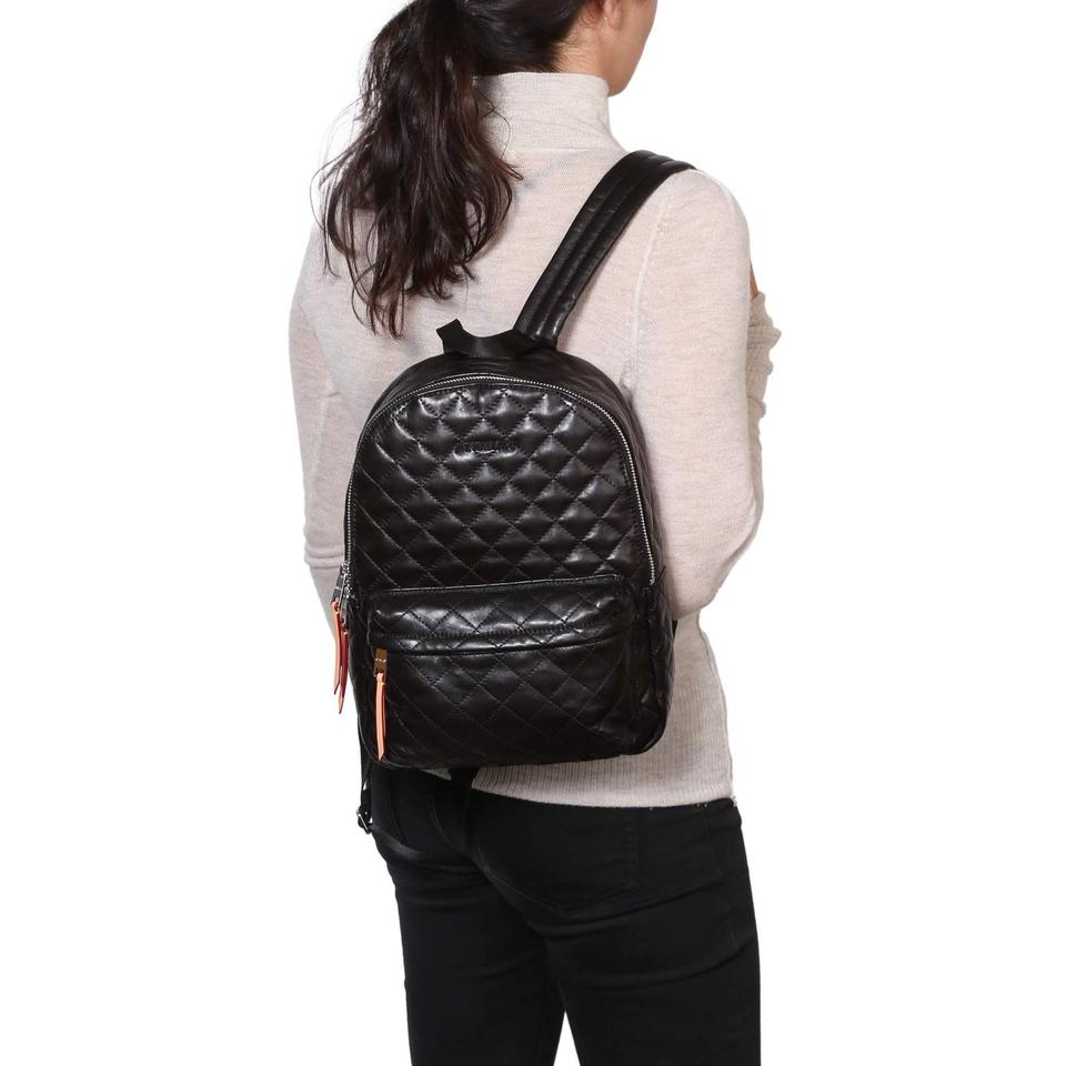 efc31e3b1b11 MZ Wallace Small Metro Quilted Black Italian Leather Backpack - Tradesy