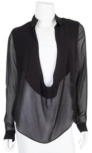 Anthony Vaccarello Top black