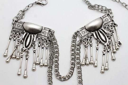 Other New Women Ethnic Moroccan Style Charm Silver Metal Fashion Belt Image 3