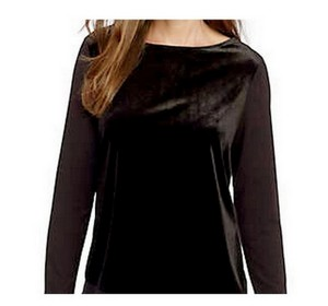 Ann Taylor Velvet Blouse Small Sweater