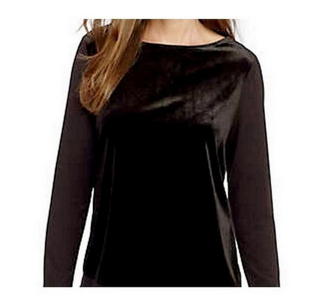 Ann Taylor Velvet Blouse Small Sweater Image 0