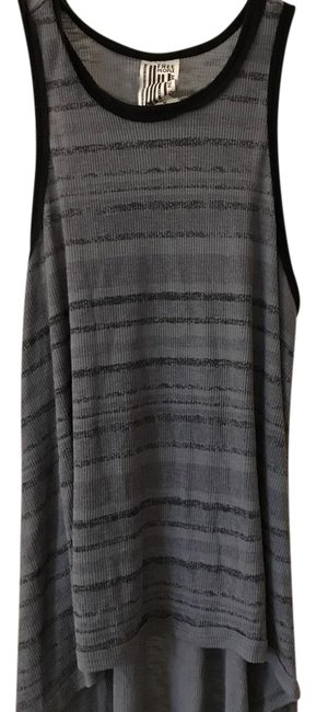 Preload https://img-static.tradesy.com/item/21320623/free-people-black-and-gray-racer-tunic-size-0-xs-0-1-650-650.jpg
