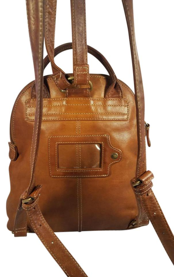 2c0dbe40bf81 Fossil Vintage Brown Leather Backpack - Tradesy