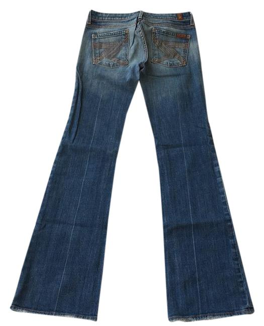7 For All Mankind Boot Cut Jeans-Medium Wash Image 0