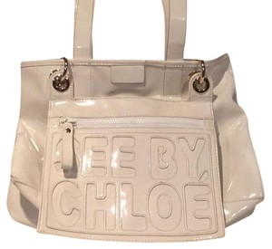 See by Chloé Tote in White/Off White