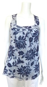 Sweet Pea by Stacy Frati Floral Top Blue