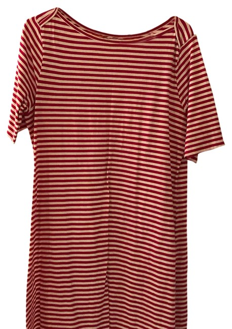 Preload https://img-static.tradesy.com/item/21320809/old-navy-raspberry-and-white-sailor-stripes-short-casual-dress-size-12-l-0-1-650-650.jpg
