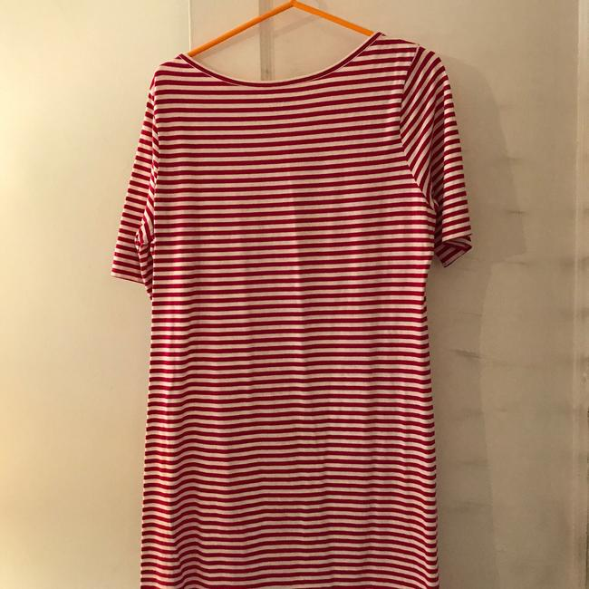 Old Navy short dress raspberry and white on Tradesy Image 1