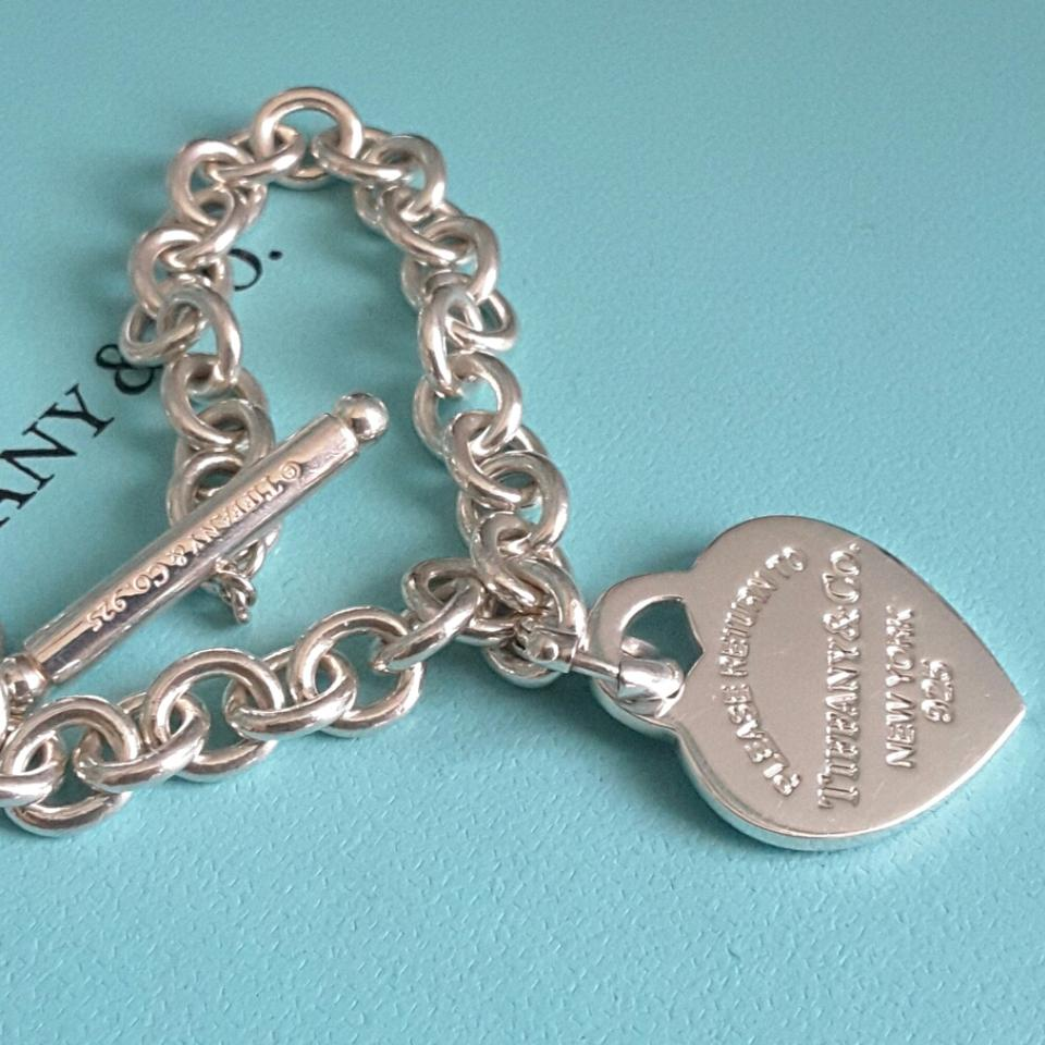 Tiffany Amp Co Return To Tiffany Blue Enamel Heart Tag