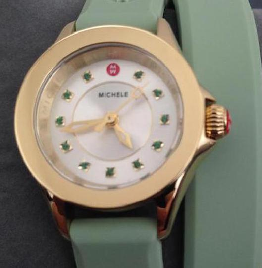Michele NWT jelly bean small case double wrap watch Image 2
