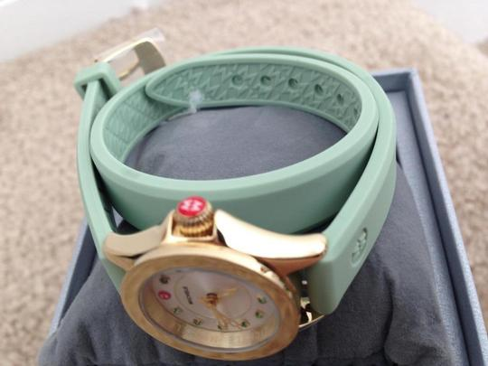 Michele NWT jelly bean small case double wrap watch Image 4