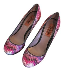 Missoni Sandals Zig Zag Multi Pumps
