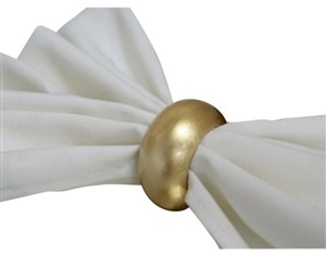 Gold Napkin Rings(set Of 50).....us Only Delivery....lot A