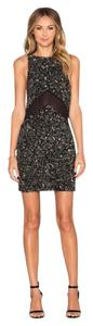 MLV Sequin Date Mesh Dress