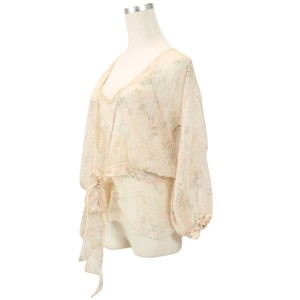Chanel Summer Silk Top Ivory
