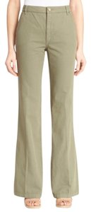Tory Burch Flare Pants Green