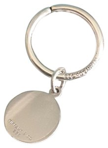 Tiffany & Co. Tiffany & Co.Round Tag Charm & Keyring Key Chain Ring