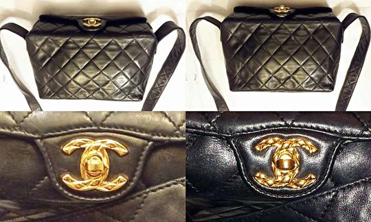 Chanel Vintage Jumbo Camera Flap Cc Logo Medium Cross Body Bag Image 2