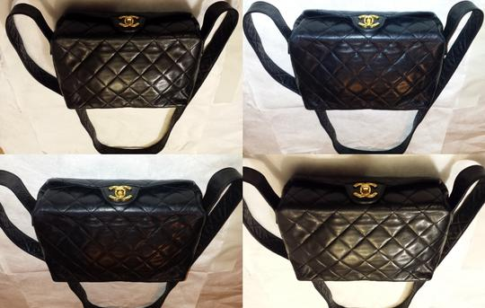 Chanel Vintage Jumbo Camera Flap Cc Logo Medium Cross Body Bag Image 3
