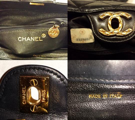 Chanel Vintage Jumbo Camera Flap Cc Logo Medium Cross Body Bag Image 8