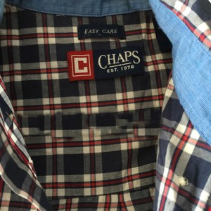 Chaps Button Down Shirt blue