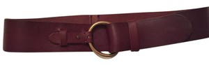 Anthropologie Anthropologie Boho-Chic Chocolate Brown Leather Belt