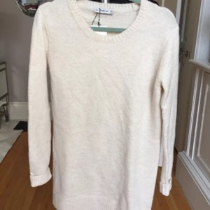Zara short dress Light Pink Sweater Sweater on Tradesy