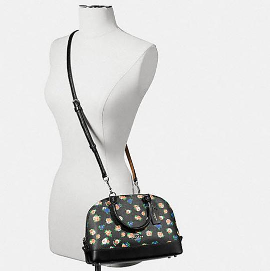Coach Mini Sierra Posey Cluster Floral 57621 Satchel in multicolor Image 1