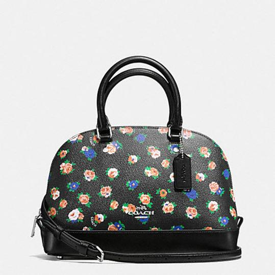 Coach Mini Sierra Posey Cluster Floral 57621 Satchel in multicolor Image 3