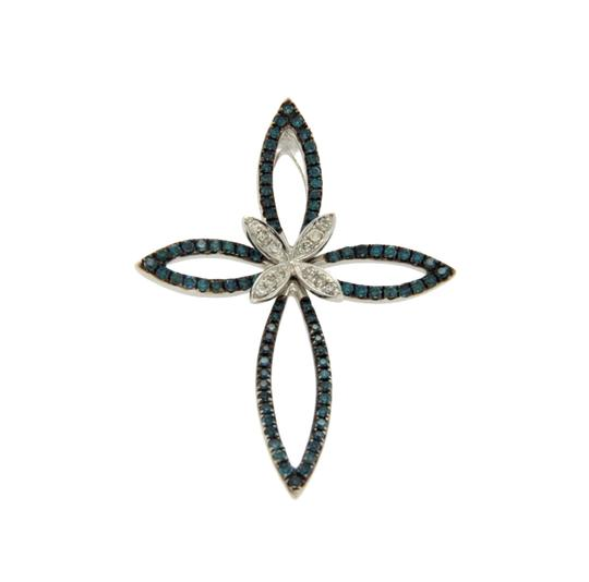 Preload https://img-static.tradesy.com/item/21322312/effy-white-and-green-diamonds-14k-white-gold-butterfly-cross-pendant-charm-0-0-540-540.jpg