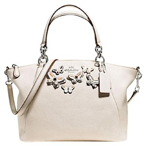 Coach Kelesy Madison 34493m F34493 36675 Satchel in SILVER/CHALK