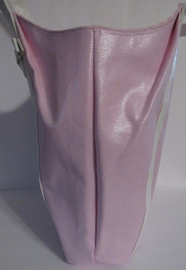 Juicy Couture Shoulder Bow Tote in pink / white Image 2