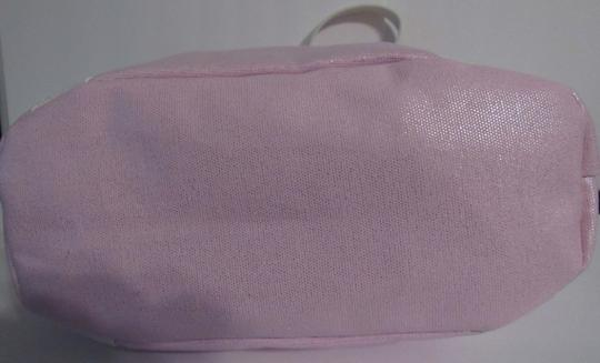 Juicy Couture Shoulder Bow Tote in pink / white Image 3