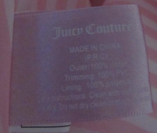 Juicy Couture Shoulder Bow Tote in pink / white Image 6